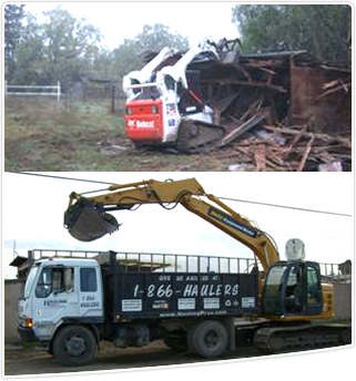 Debris Removal Construction Cleanup Hauling Services