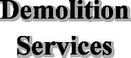 demolition-services