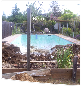 Before Pool Removal